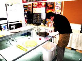 研修用のキッチン設備